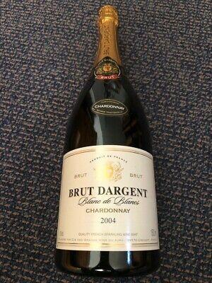 Brut Dargent Blanc de Blancs Chardonnay 2004, 1,5 Liter Magnum Flasche