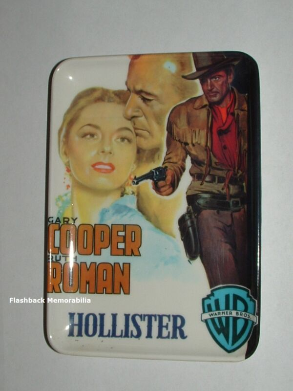 Vintage GARY COOPER HOLLISTER Melamine Tray COIN Key TIP Check CHANGE Ruth Roman