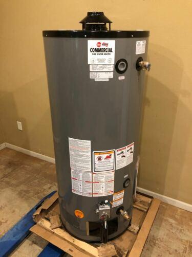 New Rheem 75,000 BTU G75-75N-3 Natural Gas Commercial Water Heater 75 Gallon