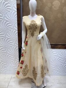 Indian ladies attires clearing sale anarkali gown plus size