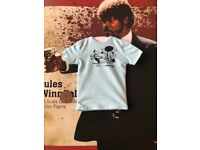 Redman Pulp fiction Jules Winnfield Casual T-shirt Loose SCALA 1//6th