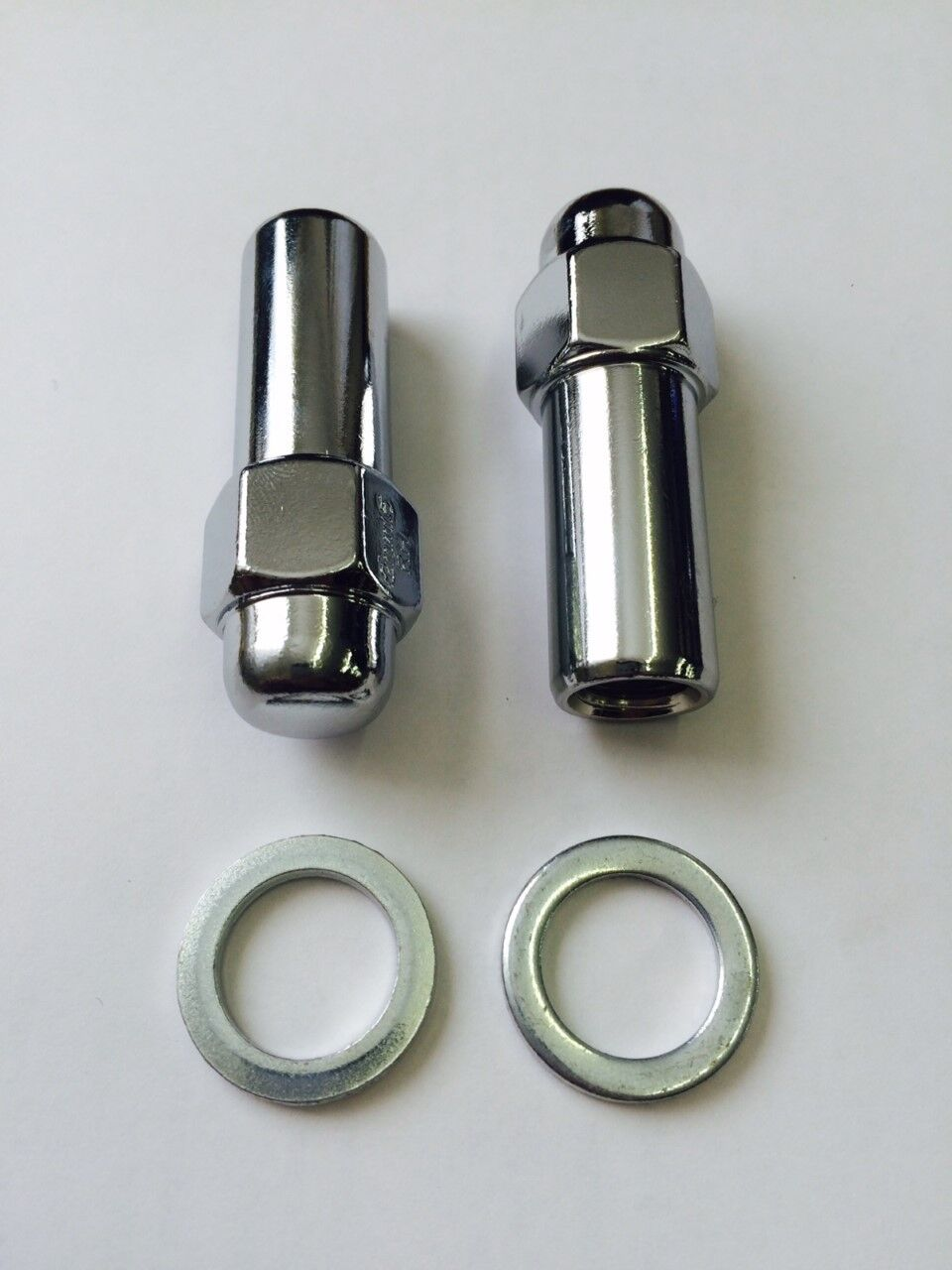 16x Mini Wheel Nuts 3//8 UNF Dome Type Aftermarket Or Steel Wheels Chrome Plated