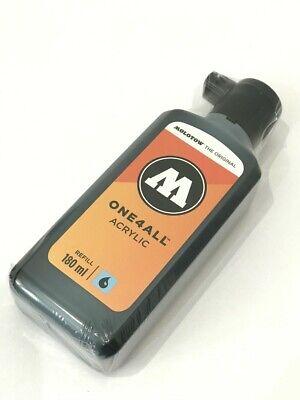 MOLOTOW ONE4ALL Refill - 180ml (#180 Signal Black)