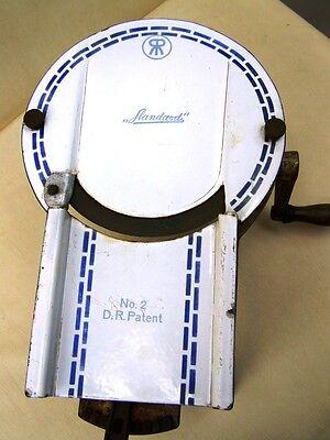 Vecchio meccanico Affettatrice per salsiccia Standard No.2 2 delr.P.