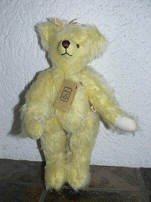 Grisly - Bär Sarah - gelb - ca. 35 cm - limitiert -  Nr. 401 von 999 -