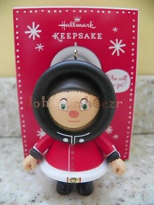 Hallmark 2013 Mystery Frosty Queen's Guard Christmas Ornament