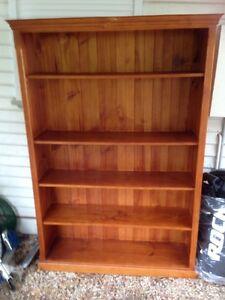 Solid timber bookshelves Hazelbrook Blue Mountains Preview