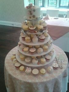 Say Yes to the Cupcakes -We Stand rentals - Wedding Cupcake