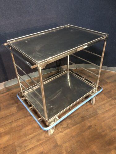 Pedigo Stainless 2 Shelf Cart