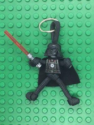 LEGO Star Wars Darth Vader Minifigure Paracord Buddy Keyring UK SELLER