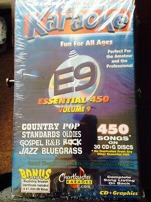 9 Karaoke Entertainment Bright Chartbuster Essential 450 Vol