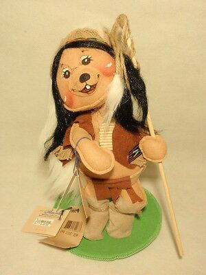 Annalee 1996 Disney Bear Native American Indian Doll