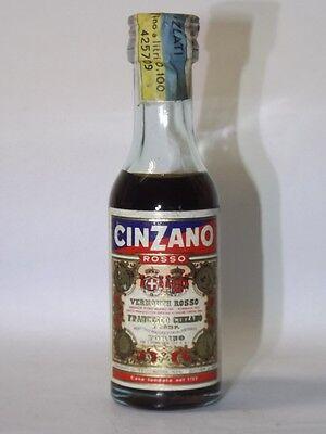 Martini Cinzano Rosso 5,5 cl mini flaschen bottle miniature bottela mignonnette