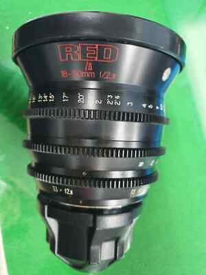 RED pro zoom lens 18-50mm