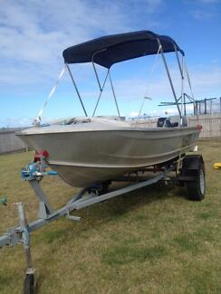 14 ft tinny for sale good condition Zilzie Yeppoon Area Preview