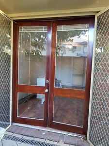2 x Solid Jarrah Doors St James Victoria Park Area Preview