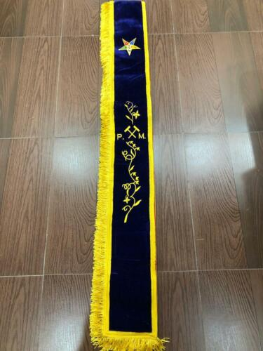 OES PAST MATRON SASH WITH GAVELS, OES SASHES (STYLE B) ORDER OF EASTERN STAR