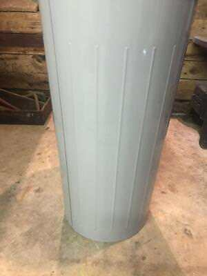 Witt Industries Model #10 fire safe metal trash can Gray Garbage Can