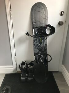 Snowboard, bindings and boots for sale!