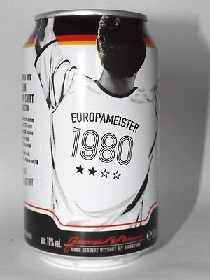 Jim Beam Cola Dose 0,33 Neu Voll Europameister 1980 limited edition