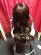 AMAZING REALISTIC LOOKING LIGHT BROWN SLIGHTLY WAVY WIG ADELAIDE Glandore Marion Area Preview
