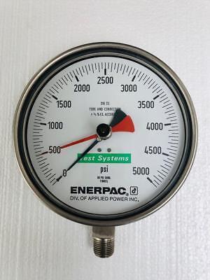 Enerpac T6002l Test Gauge 5000 Psi 350 Bar 2 -free Shipping-