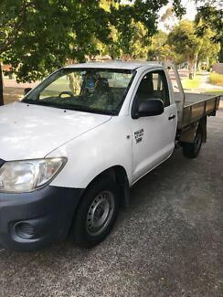 2010 Toyota hilux workmate manual Croydon North Maroondah Area Preview