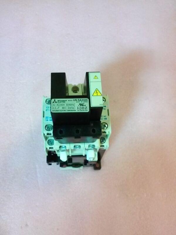 MITSUBISHI SD-N21 Magnetic Contactor with UN-SA3320 UN-SA25 Surge Absorber