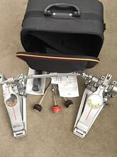 Pearl eliminator demon drive double pedal & Paiste pst8 cymbals Glenroy Moreland Area Preview