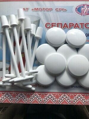 10 Milk Stoppers And 10 Floats For Electric Cream Milk Separator 80-100l 1 Lot