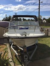 15ft runabout boat Minchinbury Blacktown Area Preview