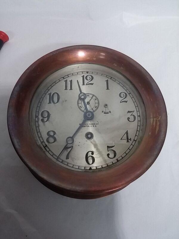 "6"" Early Chelsea Pilot Clock #136589"