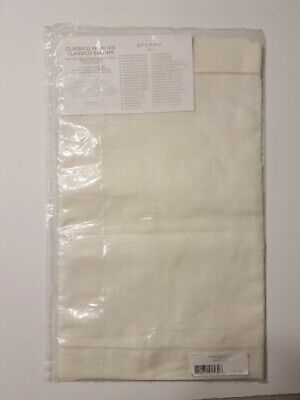 "Sferra Classico Table Runner ECRU 100% Linen 15 x 54""  Made in Italy New"