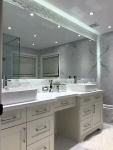 nice basement washroom kitchen renovation job