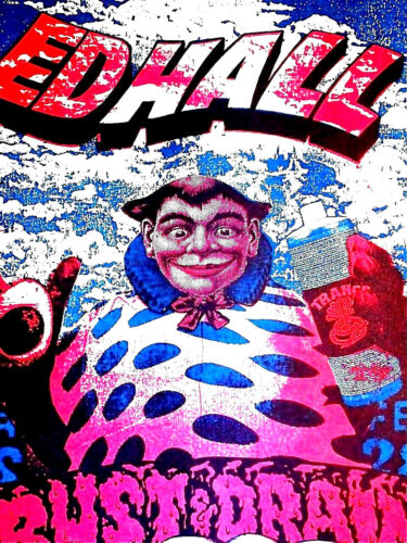 ED HALL about 1990  by JASON AUSTIN FABLED PUNK ORIGINAL POSTER  - OTHER WORLDLY