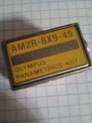 Ultrasound Transducer Olympus Panametrics-ndt Am2r-8x9-45