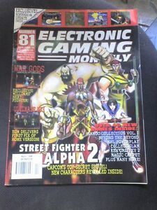 EGM-ELECTRONIC-GAMING-MONTHLY-N-81-RIVISTA-VIDEOGIOCHI-USA-Lingua-originale