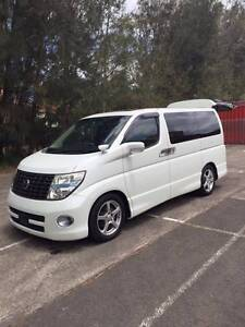 2007 Nissan Elgrand E51 Highway Star PE51 Auto Wagon Ryde Ryde Area Preview