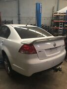 Now wrecking Holden Commodore VE SV6 AUTO SEDAN WHITE LLT Williamstown North Hobsons Bay Area Preview