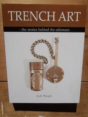 Trench art book militaria WW1. Engraved coins and artefacts. GREAT XMAS GIFT ()