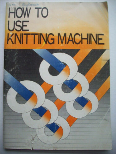 How to use a Knitting machine detailed photo instructions and pattern guide