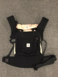 Ergobaby Original Baby Carrier - Black/Camel - One Size