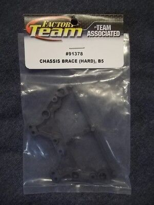NEW Team Associated 91378 RC10 B5 Chassis Brace Hard 2WD (Associated Chassis Brace)