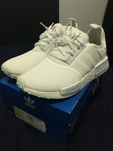 Brand New NMD R1 Triple White Monochrome with 3M US 8 or UK 7.5 Brisbane City Brisbane North West Preview