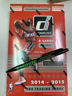 2014-15 Panini Donruss NBA Basketball Hobby Box