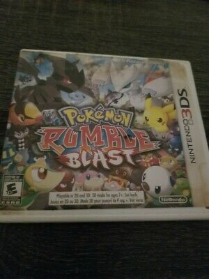 Pokemon Rumble Blast (Nintendo 3DS, 2011)