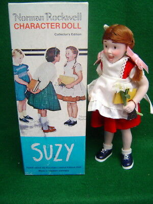 Suzy Doll Rumbleseat Press Norman Rockwell Saturday Evening Post Cover 1957