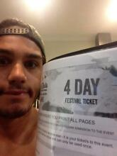 1 x Falls Festival Lorne 4 day ticket Girraween Litchfield Area Preview
