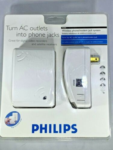 Philips Wireless Phone/Modem Jack System PH9000 NEW