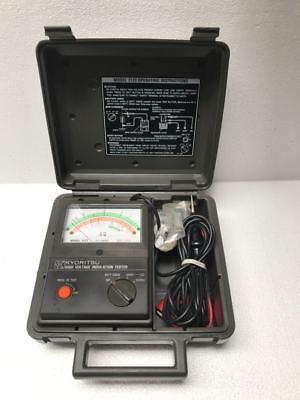 Kyoritsu 3123 High Voltage Insulation Tester 10000 V 400 Giga Ohms 1